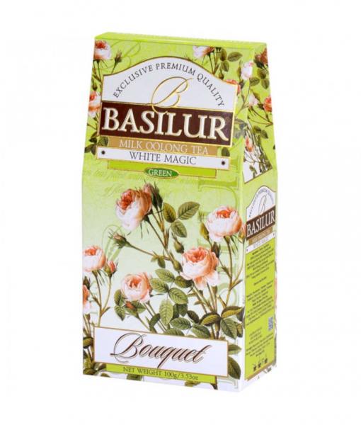 Ceai Basilur White Magic - Refill, 100g [0]