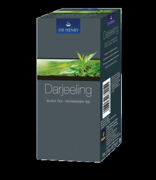 Ceai negru Sir Henry Ceai Darjeeling, 25 plicuri 0