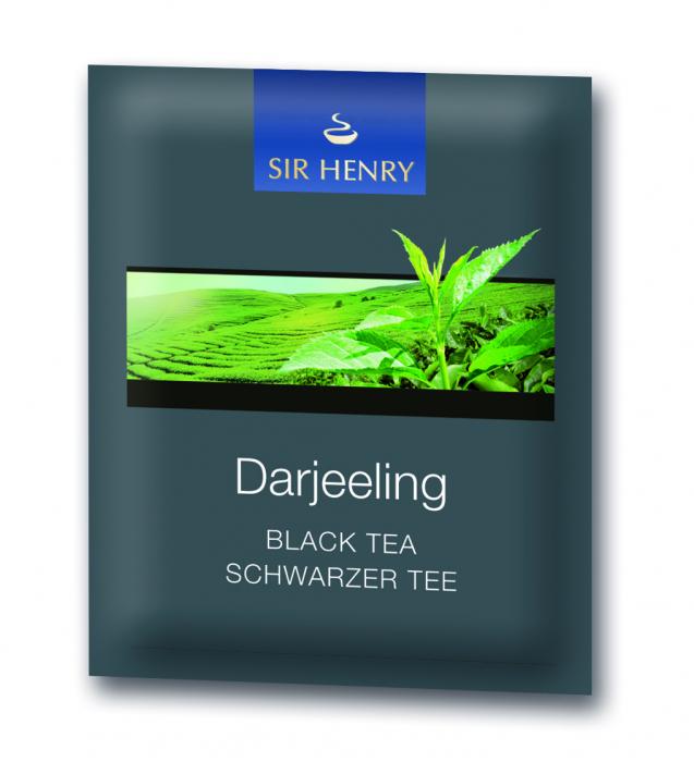 Ceai negru Sir Henry Ceai Darjeeling, 25 plicuri 2