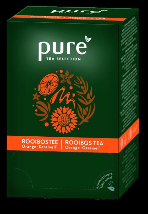 Ceai Pure Rooibos Portocala si Caramel, 25 plicuri [0]