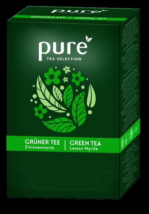 Ceai Pure Selection Verde cu Lamaie, 25 plicuri 0