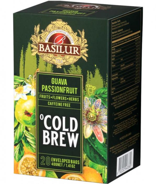 Ceai rece Basilur Brew Guava Si Passionfruit [0]