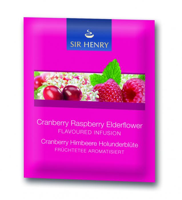 Ceai Sir Henry Cranberry Rasberry, 25 pliculete 1