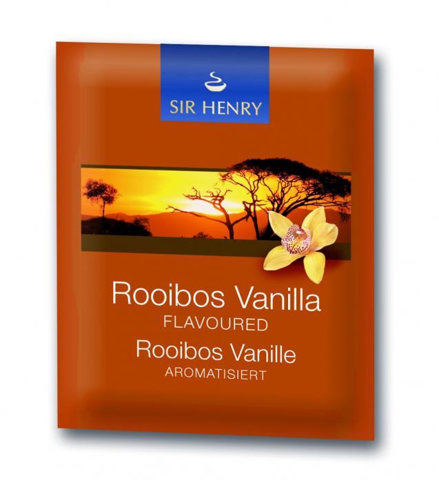 Ceai Sir Henry Rooibos Vanilla, 25 plicuri 1