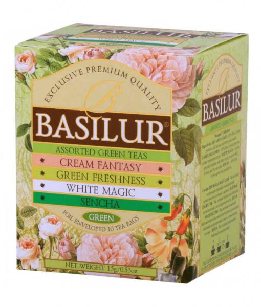 Ceai verde Basilur Bouquet Assorted, 10 plicuri [0]