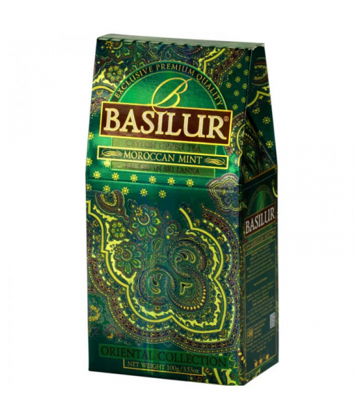 Ceai verde Basilur Moroccan Mint - Refill 2