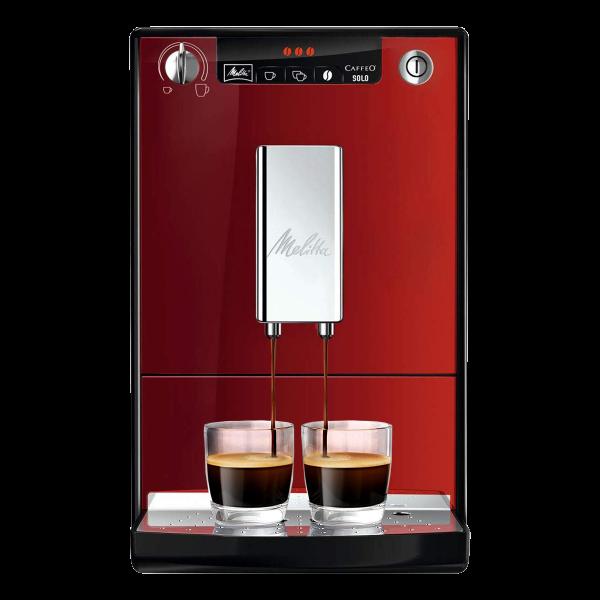 Espressor Automat Melitta Caffeo Solo, rosu [0]