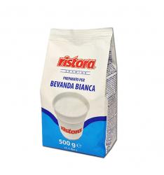 Pulbere alba cu gust de lapte Ristora, 500g 0