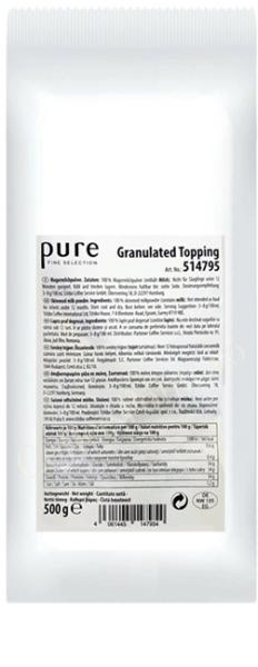 Topping lapte granulat Tchibo Pure, 500g 0