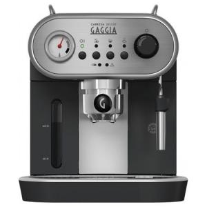 Espressor manual Gaggia Carezza Deluxe RI8525/01, negru0