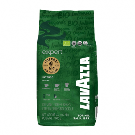 Cafea boabe Lavazza Expert Tierra Bio Organic Intenso, 1 kg [0]