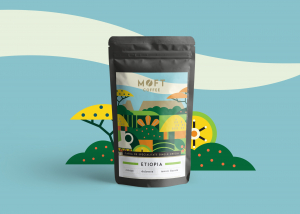 Cafea boabe Moft Etiopia, 500g1