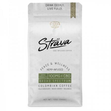 Cafea boabe Strava 4mg CBD Premium Craft [0]