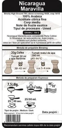 Cafea Proaspat Prajita Single Origin The Coffee Shop Nicaragua, 500g1