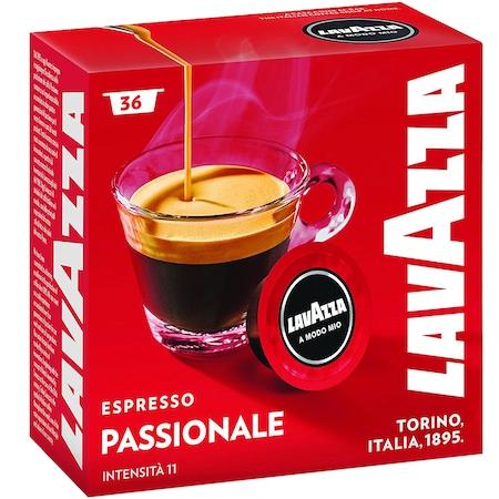 Capsule cafea Lavazza A Modo Mio Passionale, 36 buc0
