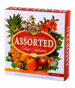 Ceai Basilur Fruit Infusions Assorted, 40 plicuri1