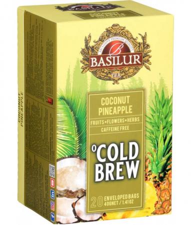 Ceai rece Basilur Brew Coconut-Pineapple, 20 plicuri [1]