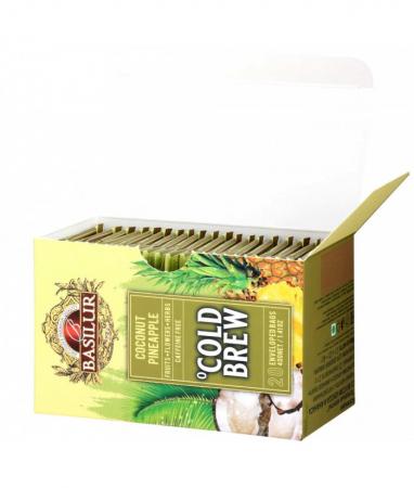 Ceai rece Basilur Brew Coconut-Pineapple, 20 plicuri [3]
