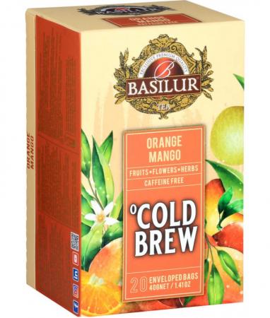 Ceai rece Basilur Brew Orange & Mango, 20 plicuri [1]