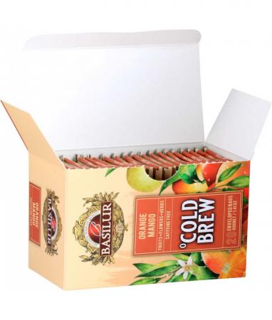 Ceai rece Basilur Brew Orange & Mango, 20 plicuri [2]