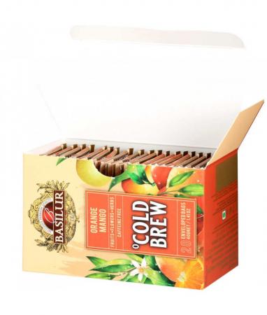 Ceai rece Basilur Brew Orange & Mango, 20 plicuri [3]