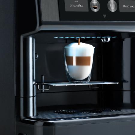 Espressor automat cafea Saeco Phedra EVO Cappuccino 9gr, negru, 1750W [4]