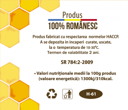 """Îndulcitor cu miere """"My Honey Moments"""" la plic,  15g x 50 buc [2]"""