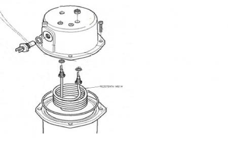 Rezistenta Boiler 1450W cod 099653 [2]