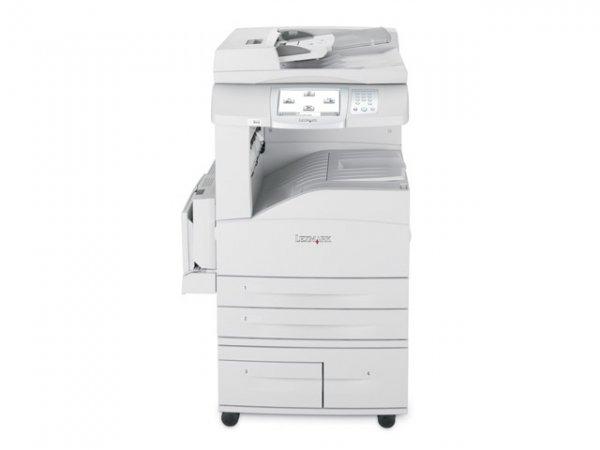 Imprimanta LaserJet Monocrom, A3/A4, Lexmark, X850e, 35 pagini/minut, 150000 pagini/luna, 1200 X 1200 dpi, Duplex,  Scaner A3/A4, DADF, USB, Network, LPT, FAX, Toner inclus 0