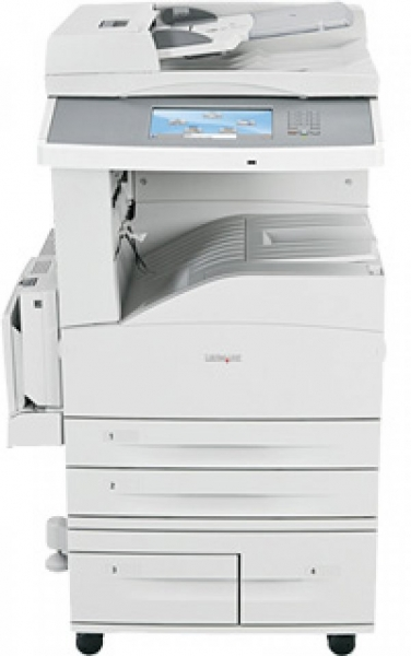 Imprimanta LaserJet Monocrom, A3/A4, Lexmark, X860de, 35 pagini/minut, 150000 pagini/luna, 1200 X 1200 dpi, Duplex, Scaner A3/A4, DADF, USB, Network, FAX, Toner inclus 0