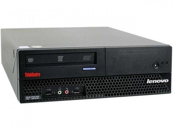 Calculator Lenovo M58 Desktop, Intel Core 2 Duo E7300 2.66 GHz, 2 GB DDR3, Hard Disk 80 GB SATA, DVDRW 0