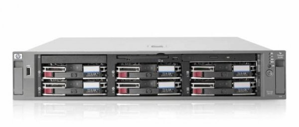 Server HP ProLiant DL380 G3, Rackabil 2U, 2 Procesoare Intel Xeon 3.4 GHz, 2 x hard disk 73 GB SCSI, DVD-ROM, Raid Controller HP SmartArray 6i, 2 x Surse Redundante 0