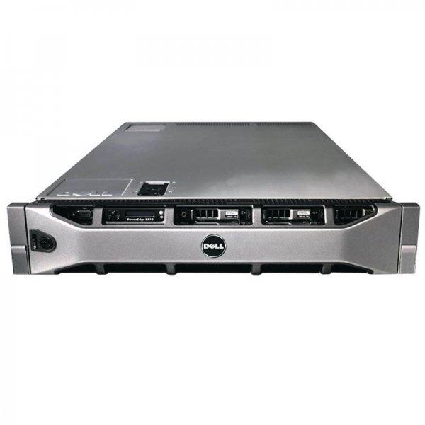 Server DELL PowerEdge R810, Rackabil 2U, 2 Procesoare Intel Xeon E7-2850 2.0 GHz (20 nuclee), 2 x hard disk 256 GB SSD, 32 GB DDR3 ECC, DVD-ROM, Raid Controller SAS/SATA DELL Perc H700, 2 X Surse Redu 0