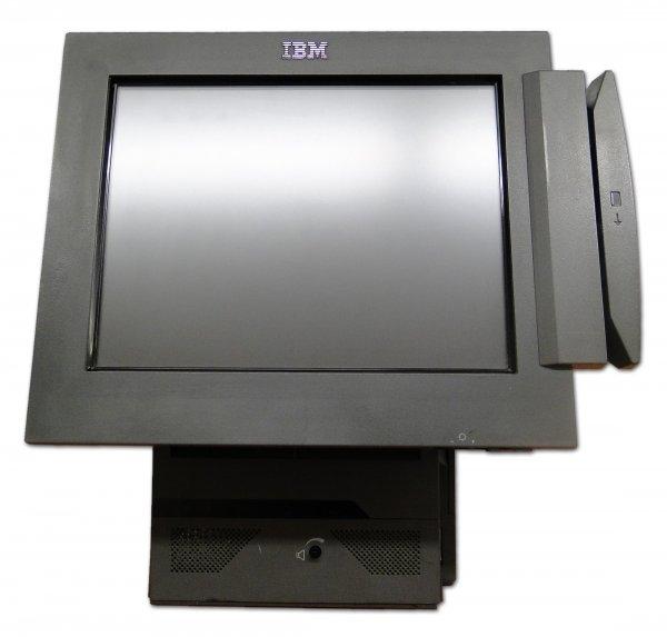 Sistem POS IBM SurePOS 500 4840-563, Display 15inch Touchscreen, Intel Celeron 2.0 GHz, 1 GB DDRAM, 40 GB HDD ATA 0