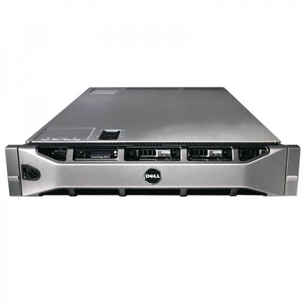 Server DELL PowerEdge R810, Rackabil 2U, 2 Procesoare Intel Xeon E7-2850 2.0 GHz (20 nuclee), 32 GB DDR3 ECC, 4 x hard disk 256 GB SSD, DVD-ROM, Raid Controller SAS/SATA DELL Perc H700, 2 X Surse Redu 0