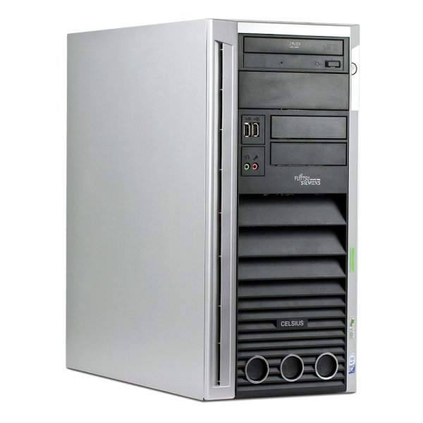 Calculator Fujitsu Siemens Celsius W360 Tower, Intel Core 2 Duo E4600, 2.4 GHz, 1 GB DDR2, 80 GB HDD SATA, DVD-ROM, Windows 7 Home Premium, 3 ANI GARANTIE 0