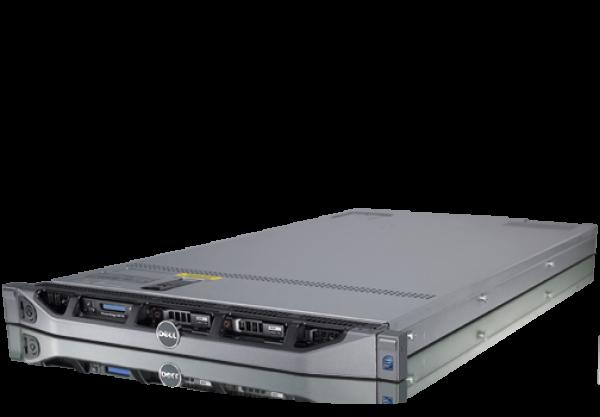 Server DELL PowerEdge R610, Rackabil 1 U, 2 Procesoare Intel Six Core Xeon X5650 2.66 GHz, 24 GB DDR3 ECC, 6 x hard disk 146 GB SAS, DVD-ROM, Raid Controller SAS/SATA H700i, 2 x Surse Redundante, 2 AN 0