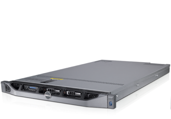 Server DELL PowerEdge R610, Rackabil 1 U, 2 Procesoare Intel Six Core Xeon X5650 2.66 GHz, 24 GB DDR3 ECC, 6 x hard disk 500 GB SATA, DVD-ROM, Raid Controller SAS/SATA H700i, 2 x Surse Redundante, 5 A 0
