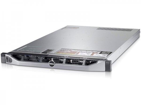 Server DELL PowerEdge R620, Rackabil 1U, 2 Procesoare Intel Xeon E5-2660 2.2 GHz (16 nuclee), 2.5inch 6 bay, DVDRW, Raid Controller SAS/SATA DELL Perc H710 Mini, iDRAC 7, 2 X Surse Redundante 0