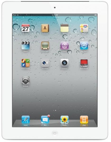 Tableta Apple iPad 2 White, 64 GB, Wi-Fi 0