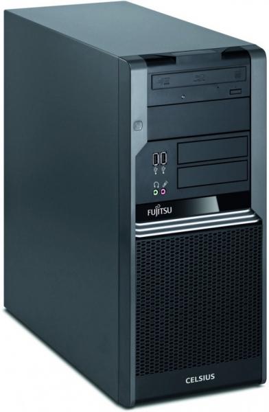 Calculator Fujitsu Siemens Celsius W380, Intel Core i5 3.2 GHz, 2 GB DDR3, 250 GB HDD SATA, DVD-ROM, Windows 7 Professional, 3 ANI GARANTIE 0