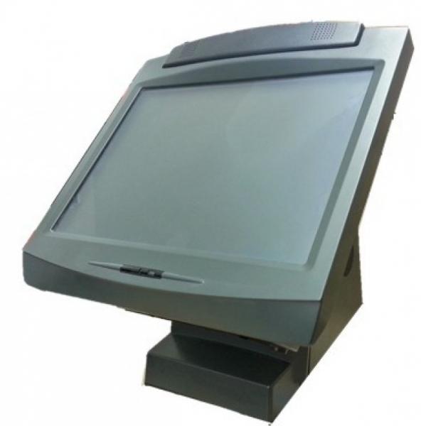 Sistem POS NCR 7402, Display 15inch Touchscreen, Celeron 2.5 GHz, 2 GB DDRAM, Customer Display 0