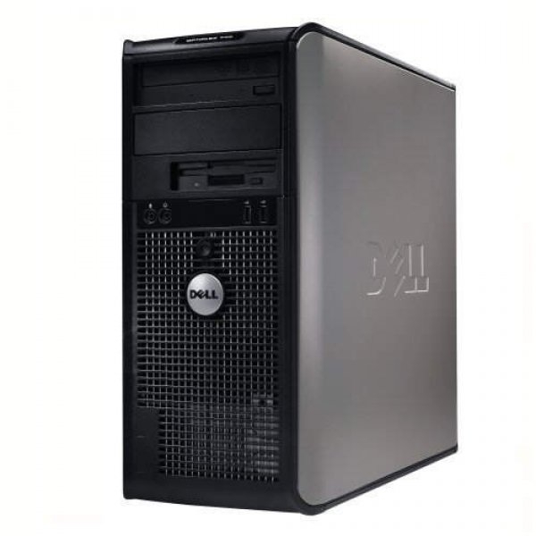 Calculator DELL Optiplex 745 Tower, Intel Core 2 Duo E6600 2.4 GHz, 2 GB DDR2, 80 GB HDD SATA, DVDRW, Windows 7 Home Premium, 3 ANI GARANTIE 0