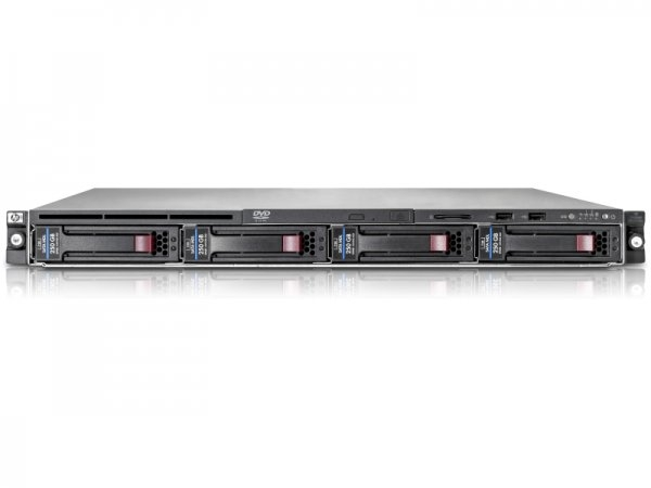Server HP ProLiant DL160 G6, Rackabil 1U, 2 Procesoare Intel Quad Core Xeon E5620 2.4Ghz, 32 GB DDR3, 1 x Sursa, 5 ANI GARANTIE 0