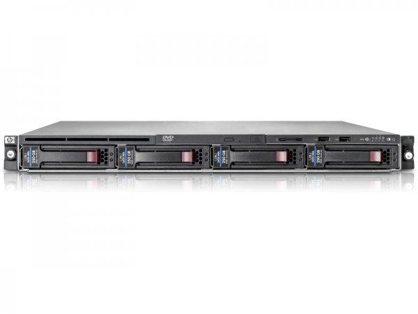 Server HP ProLiant DL160 G6, Rackabil 1U, 2 Procesoare Intel Xeon X5650 2.66Ghz (6 nuclee), 32 GB DDR3, 4 x hard disk 1 TB SATA, 1 x Sursa 0