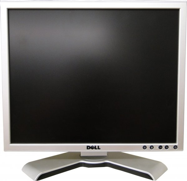 Monitor 17 inch LCD DELL UltraSharp 1708FP, Silver & Black 0
