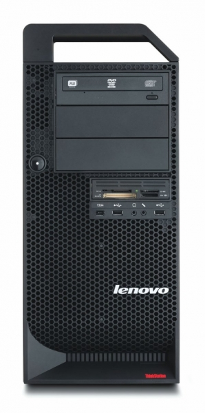 Calculator Lenovo ThinkStation D10 Tower, Intel Quad Core Xeon E5420 2.5 GHz, 4 GB DDR2 ECC FB, Hard Disk 500 GB SATA, DVDRW, Placa grafica nVidia Quadro FX 1700 0