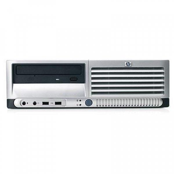 Calculator HP Compaq DC7700 Desktop, Intel Pentium Dual Core 3.4 GHz, 2 GB DDR2, 80 GB HDD SATA, DVD, Windows 7 Professional, 3 ANI GARANTIE 0