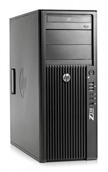 Workstation HP Z210 Tower, Procesor Intel Xeon Quad Core E3-1270 3.4 GHz, 8 GB DDR3, 1 TB SATA, DVD, Placa video nVidia Quadro FX 3800 0