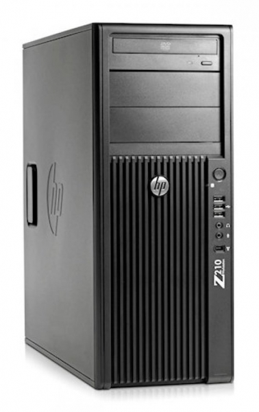 Workstation HP Z210 Tower, Procesor Intel Xeon Quad Core E3-1270 3.4 GHz, 8 GB DDR3, 2 x hard disk 1 TB SATA, DVD, Placa video nVidia Quadro FX 3800 0